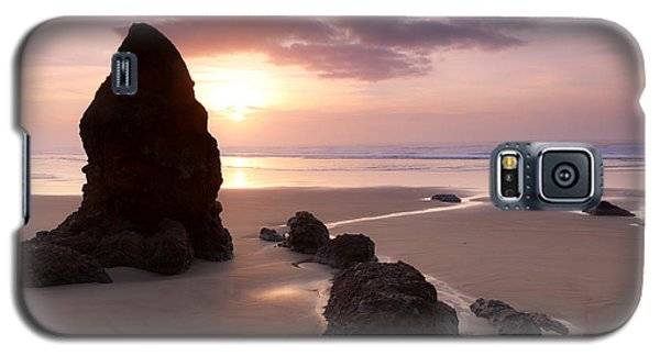 Sea Stack Sunset Galaxy S5 Case