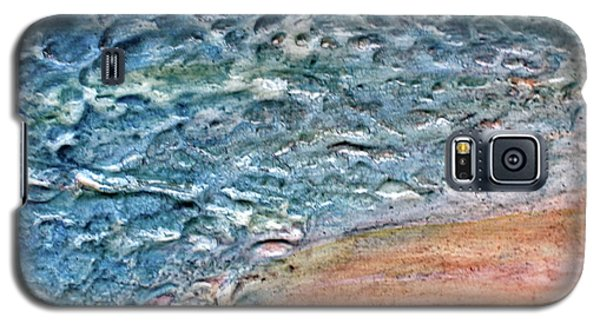 Galaxy S5 Case featuring the painting Sea Study by D Renee Wilson
