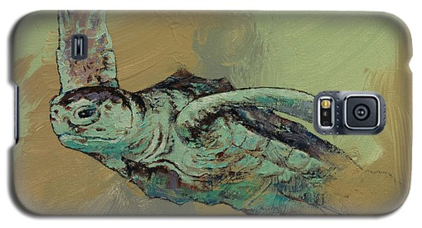 Sea Turtle Galaxy S5 Case by Michael Creese