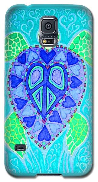 Sea Turtle Swim Galaxy S5 Case by Nick Gustafson