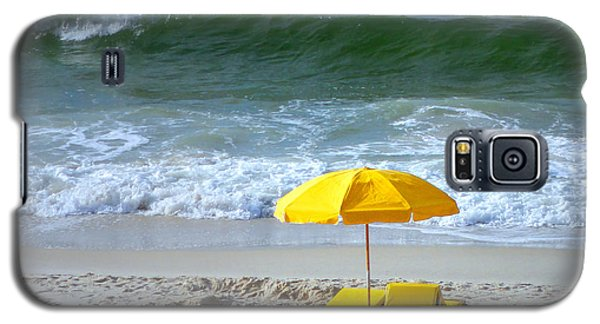 Galaxy S5 Case featuring the photograph By The Sea Waiting For Me by Nava Thompson