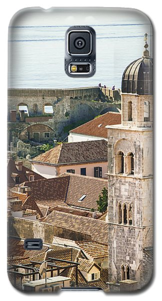 Galaxy S5 Case featuring the photograph Sea View by Phyllis Peterson