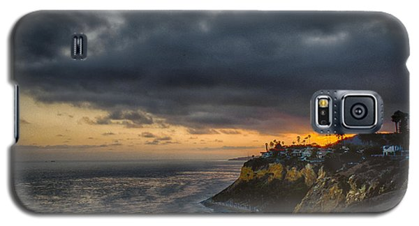 Galaxy S5 Case featuring the photograph Sea View Sunset by Joseph Hollingsworth