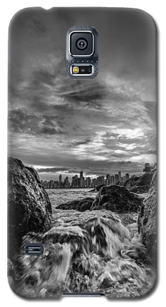 Sea Water Between Rocks Galaxy S5 Case