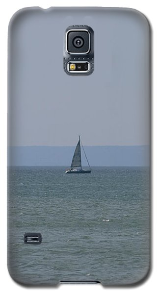 Sea Yacht  Land Sky Galaxy S5 Case by Phoenix De Vries