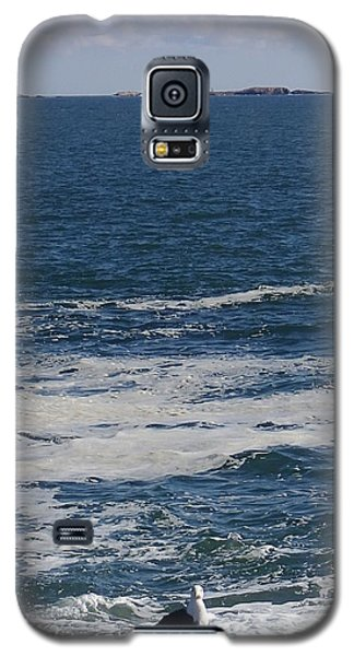 Galaxy S5 Case featuring the photograph Seabreeze. by Robert Nickologianis