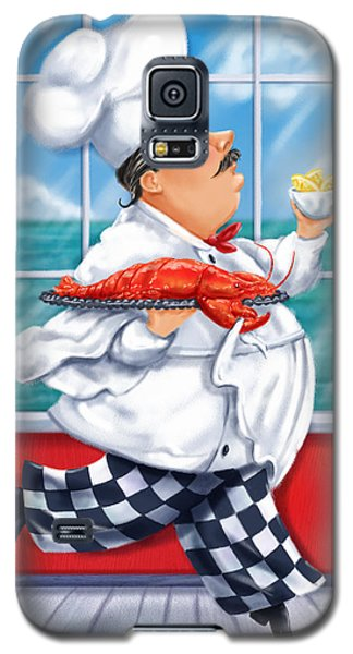 Seafood Chefs-live Lobster Galaxy S5 Case