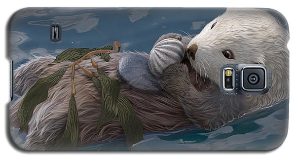 Otter Galaxy S5 Case - Seafood For Lunch by Gary Hanna