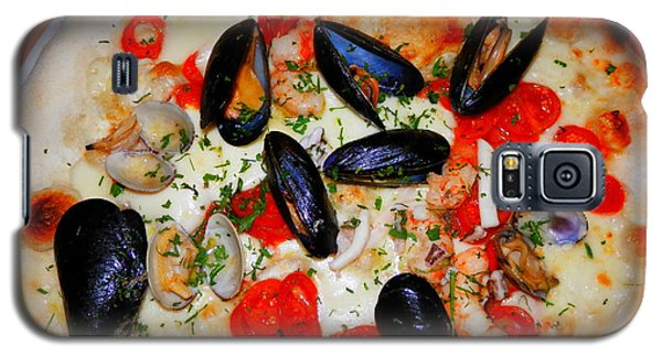 Seafood Pizza Galaxy S5 Case by Pema Hou