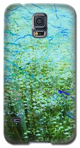 Galaxy S5 Case featuring the digital art Seagrass by Darla Wood