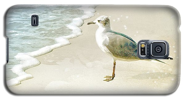 Galaxy S5 Case featuring the photograph Seagull 2 Plum Island by Karen Lynch