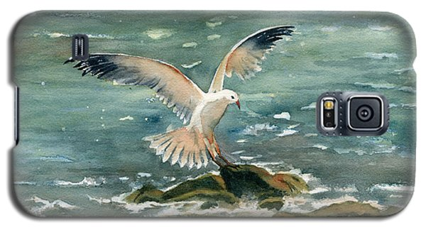 Seagull Galaxy S5 Case by Melly Terpening