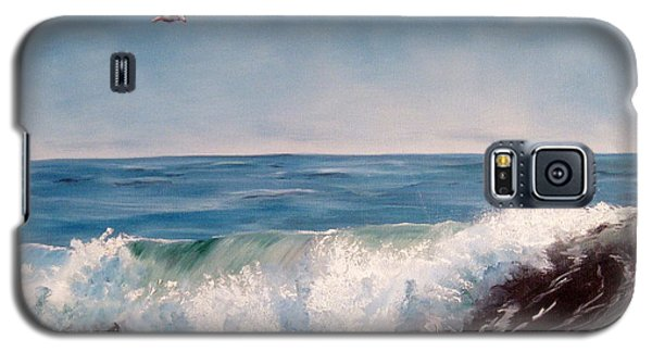 Seagull With Wave  Galaxy S5 Case