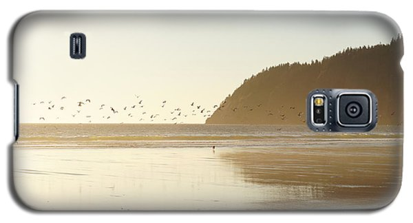 Galaxy S5 Case featuring the photograph Seagulls Aplenty by Angi Parks