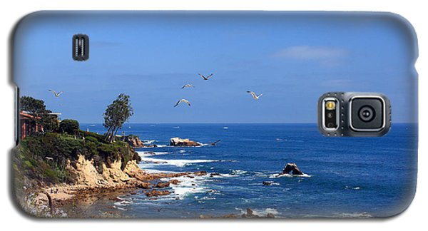 Seagulls At Laguna Beach Galaxy S5 Case