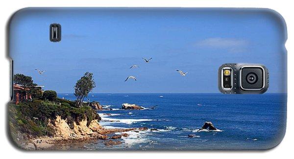 Seagulls At Laguna Beach Galaxy S5 Case