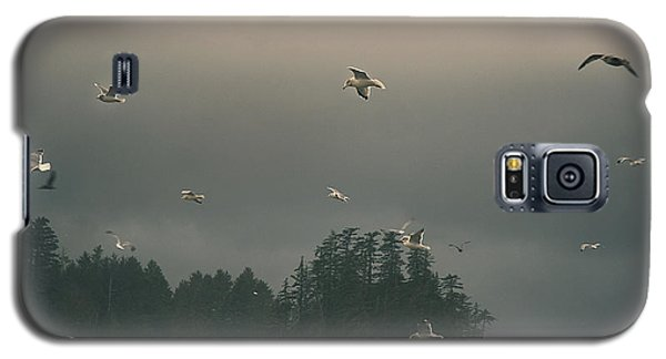 Seagulls In A Storm Galaxy S5 Case