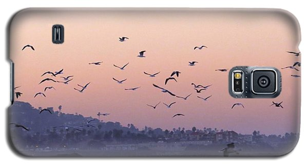 Seagulls Sunrise Galaxy S5 Case
