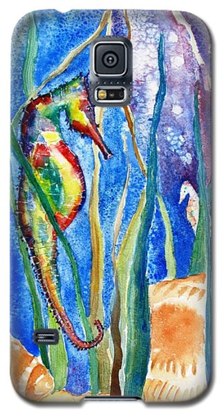 Seahorse And Shells Galaxy S5 Case