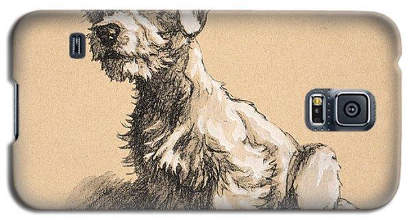 Prairie Dog Galaxy S5 Case - Sealyham by Cecil Charles Windsor Aldin