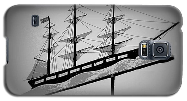 Galaxy S5 Case featuring the photograph Seaman's Bethel Weathervane  by Kathy Barney