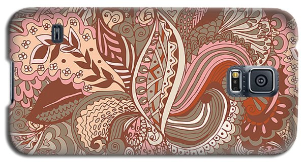 Branch Galaxy S5 Case - Seamless Abstract Hand-drawn Floral by Radugaart