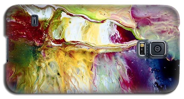 Seamless Transition Colorful Abstract Galaxy S5 Case