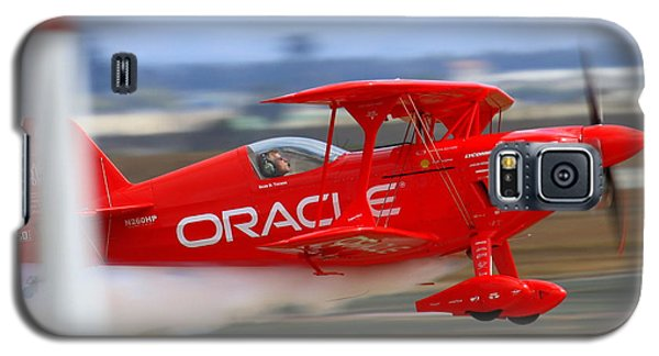 Sean Tucker And The Oracle Challenger II At Salinas Airshow Galaxy S5 Case