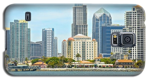 Seaport Village And Downtown San Diego Buildings Galaxy S5 Case