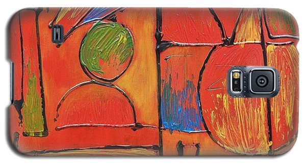 Galaxy S5 Case featuring the painting Searching For My Soul by Jason Williamson