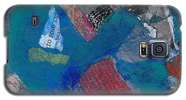 Galaxy S5 Case featuring the mixed media Searching For The Orient by Catherine Redmayne
