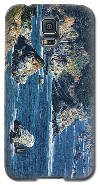 Galaxy S5 Case featuring the photograph Seascape On Ca Highway 1 by Gregory Scott