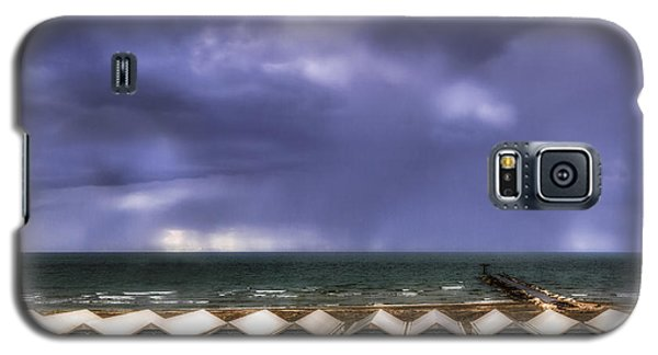 Seascape With Bathing Huts Galaxy S5 Case