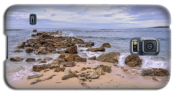 Seascape With Rocks Galaxy S5 Case