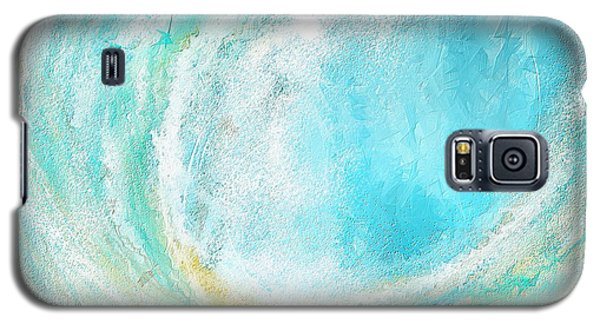 Seascapes Abstract Art - Mesmerized Galaxy S5 Case by Lourry Legarde