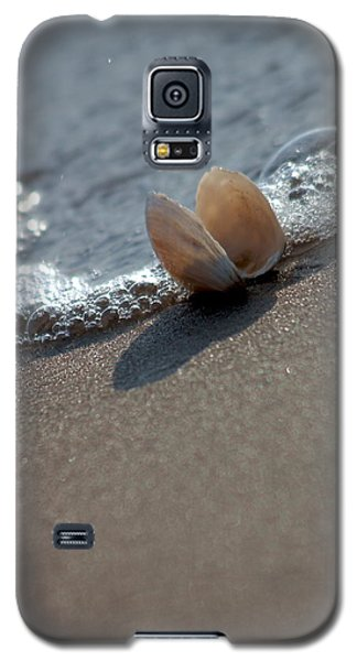 Seashell On The Coast With Wave Galaxy S5 Case
