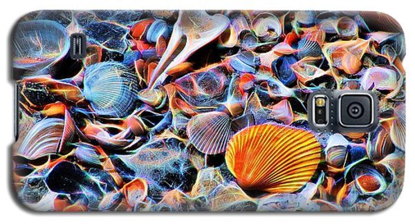 Seashells At The Seashore Galaxy S5 Case