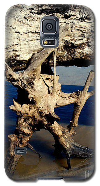 Galaxy S5 Case featuring the photograph Seashore Atlas by Irma BACKELANT GALLERIES