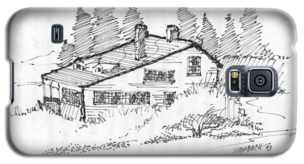 Seaside Cottage Monhegan Island 1993 Galaxy S5 Case