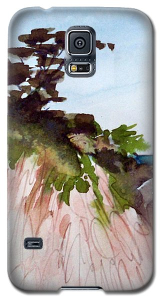 Galaxy S5 Case featuring the painting Seaside by Ed  Heaton