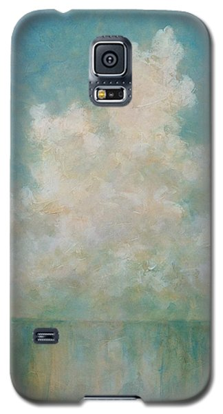 Galaxy S5 Case featuring the painting Seaside by Pam Talley