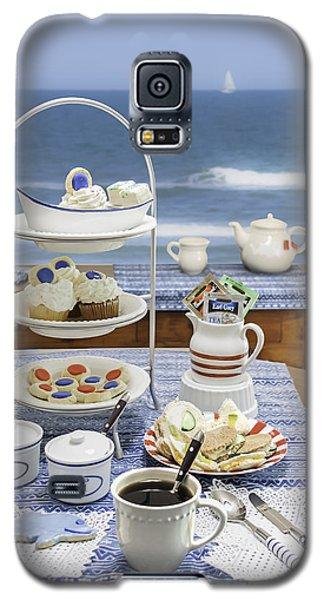 Seaside Tea Party Galaxy S5 Case