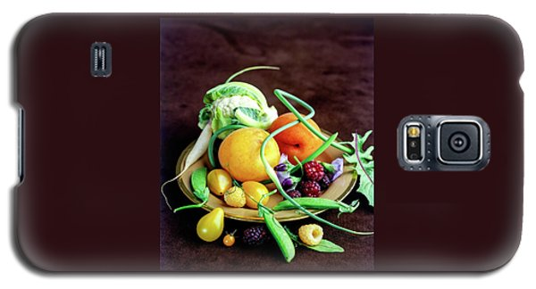 Seasonal Fruit And Vegetables Galaxy S5 Case by Romulo Yanes