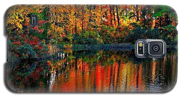 Galaxy S5 Case featuring the photograph Seasons by Allen Beilschmidt