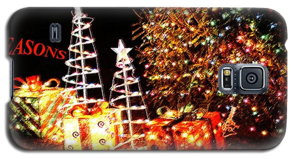 Seasons Greetings Card Galaxy S5 Case by Gary Brandes
