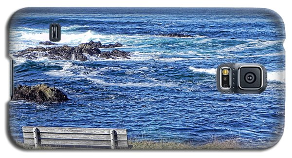 Galaxy S5 Case featuring the photograph Seat With A View by Kathy Churchman