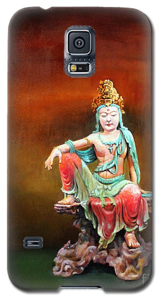 Seated Kuan Yin Galaxy S5 Case