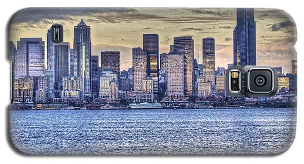 Seattle At Twilight From Alki Beach Galaxy S5 Case