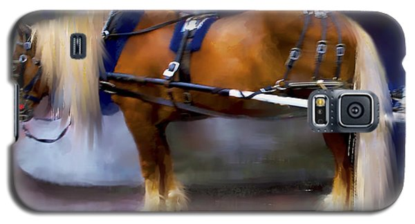 Seattle Carriage Horse Galaxy S5 Case