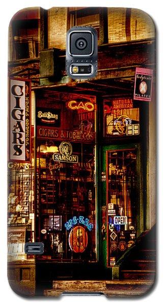 Seattle Cigar Shop Galaxy S5 Case by David Patterson